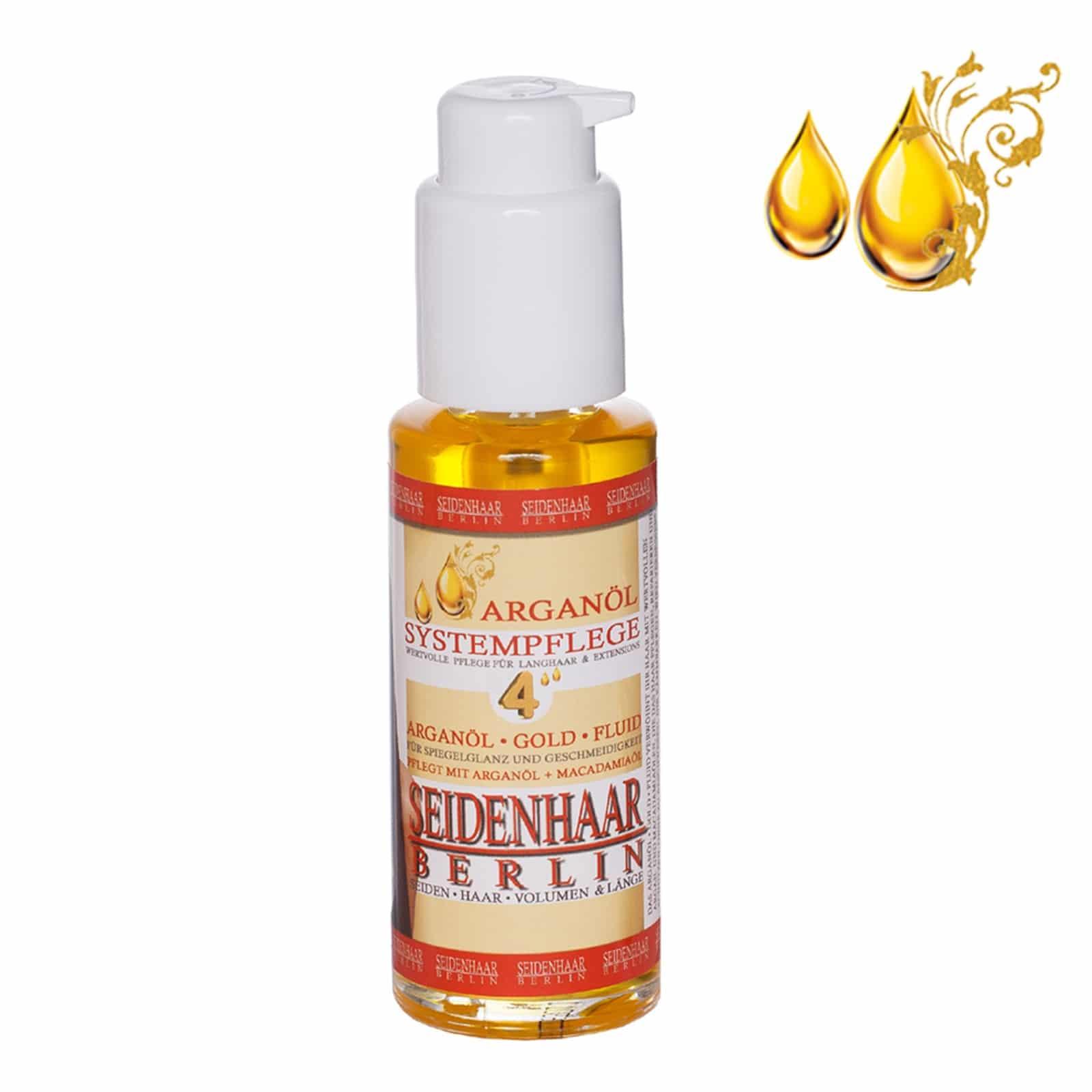 Arganöl Fluid mit Repaireffekt + Anti Frizz + Anti Spliss + Extra Glanz + Schutz