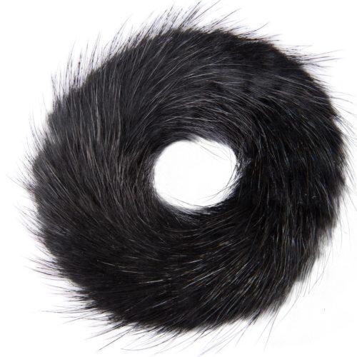 Fell Haargummiband schwarz