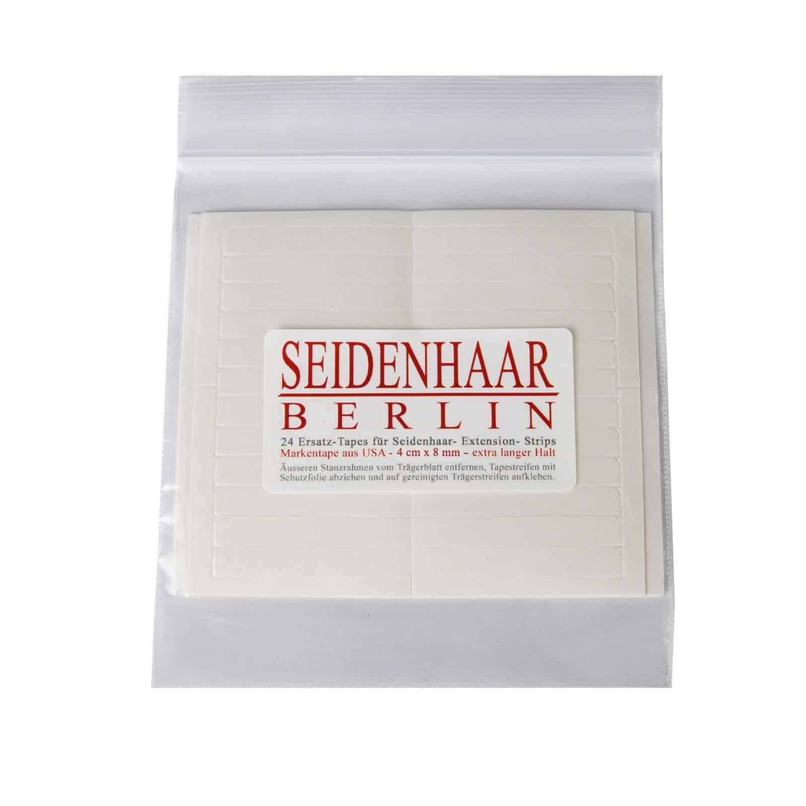 Ersatz-Tapes für Seidenhaar-Extension-Strips